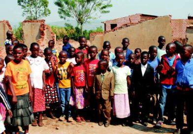 Bambini della parrocchia di Butamwa